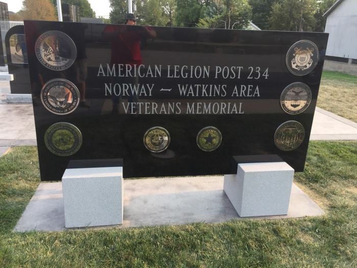 Norway Veteran Memorial